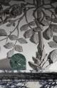 STILLA ZEGAR marmurowy zielony śr.16cm