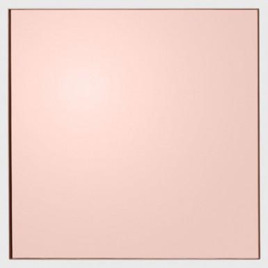 QUADRO lustro kwadratowe różowe 90cm