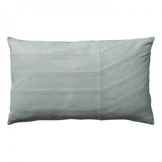 CORIA poduszka mięta skórzana 50x30cm