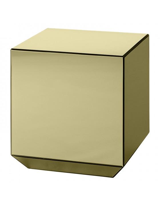 SPECULUM stolik kostka złoty