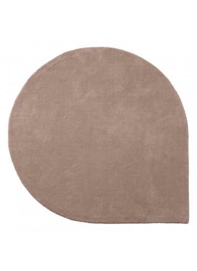 STILLA L wełniany duży dywan różowy śr.220cm