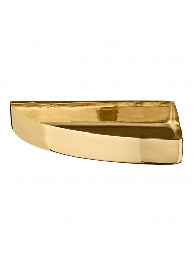 UNITY uniwersalna tacka zaokrąglona złota 11cm