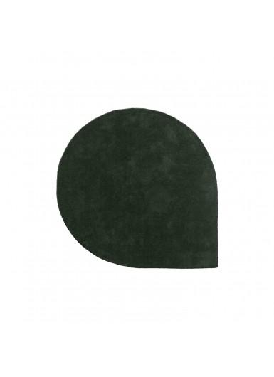 STILLA S wełniany dywan zielony śr.130cm