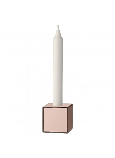 SPECULUM świecznik różowy