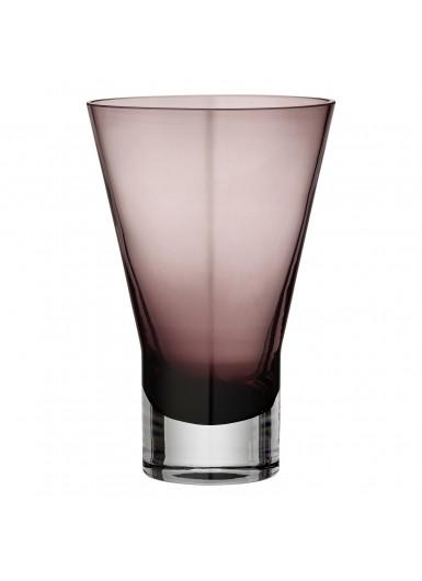 SPATIA szklany wazon różowy 19cm