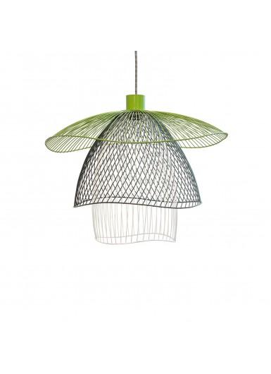 PAPILLON lampa wiszaca trojkolorowa azurowa sr.100cm