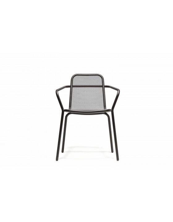 STARLING krzeslo ogrodowe klasyczne z podlokietnikami H78cm