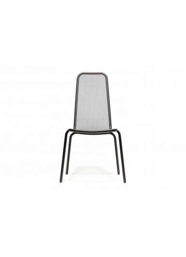 STARLING krzeslo ogrodowe klasyczne z wysokim oparciem H98cm