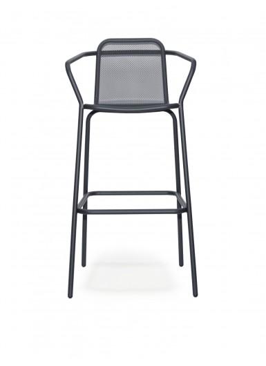 STARLING stolek barowy hoker klasyczny z podlokietnikami H110cm
