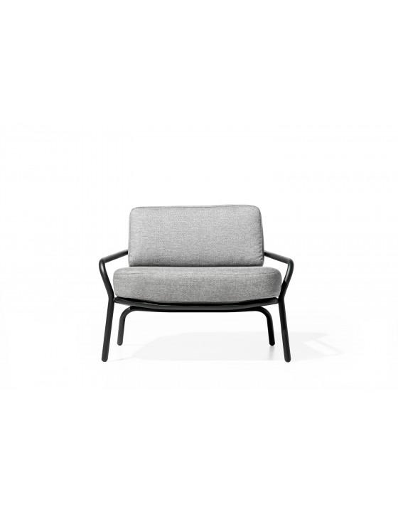 STARLING duzy fotel zewnetrzna z poduszkami H73cm