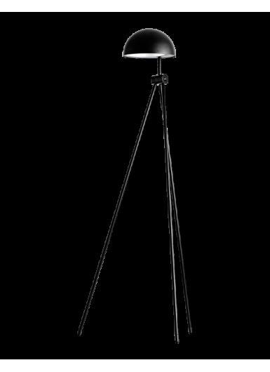 RADON lampa podłogowa czarny mat H120cm