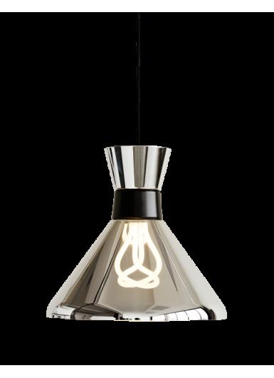 PHARAOH lampa wisząca półtransparentna z lustrzaną pokrywą śr.33cm