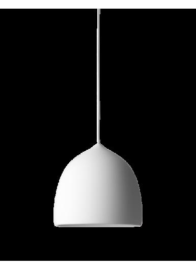 SUSPENCE P1 lampa wisząca biała z białym kablem 3m