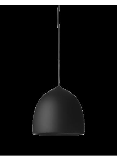 SUSPENCE P1 wisząca czarna z czarnym kablem 6m.