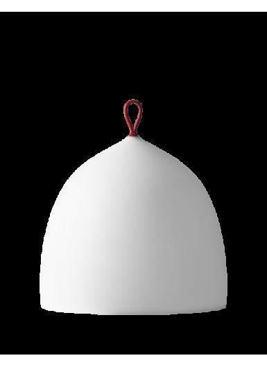 SUSPENCE Nomad podłogowa biała z czerwonym kablem 4m.