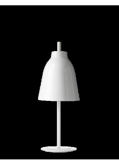 CARAVAGGIO lampka nocna/biurkowa biała H51,7cm