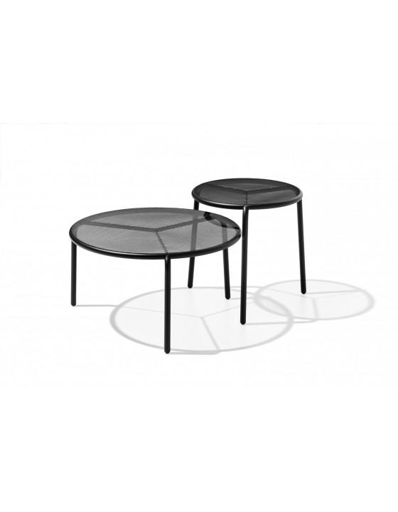 STARLING M stolik ogrodowy metalowy z ażurowym blatem śr.58cm