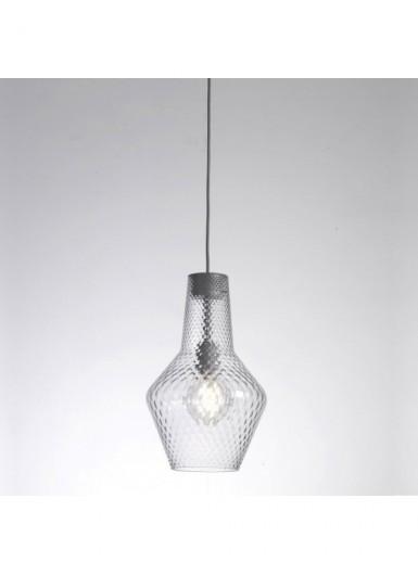 ROMEO lampa wisząca szklana śr.25cm