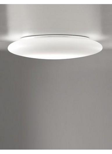MENTOS plafon okrągły mleczne szkło ściemnialny śr.45cm LED