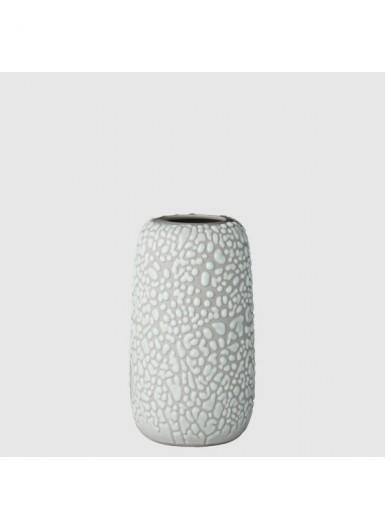 GEMMA S jasny szary ozdobny wazonik ceramiczny H10cm