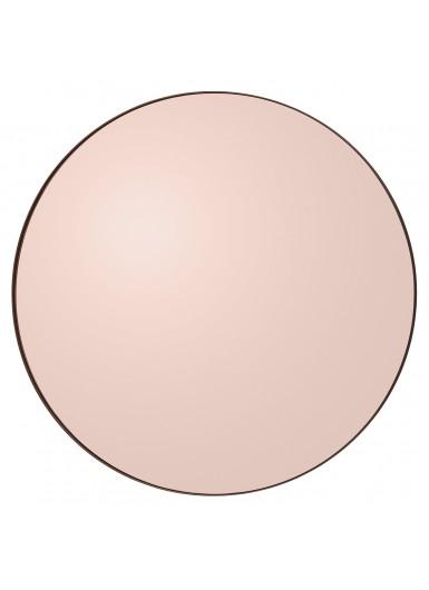 CIRCUM ŚREDNIE lustro różowe śr.110cm