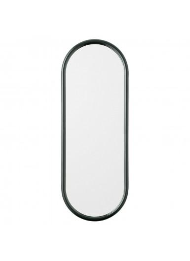 ANGUI S designerskie lustro w ramie podłużne zielone