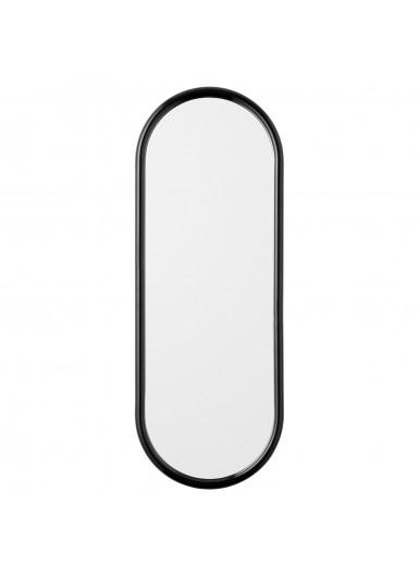 ANGUI S designerskie lustro w ramie podłużne czarne