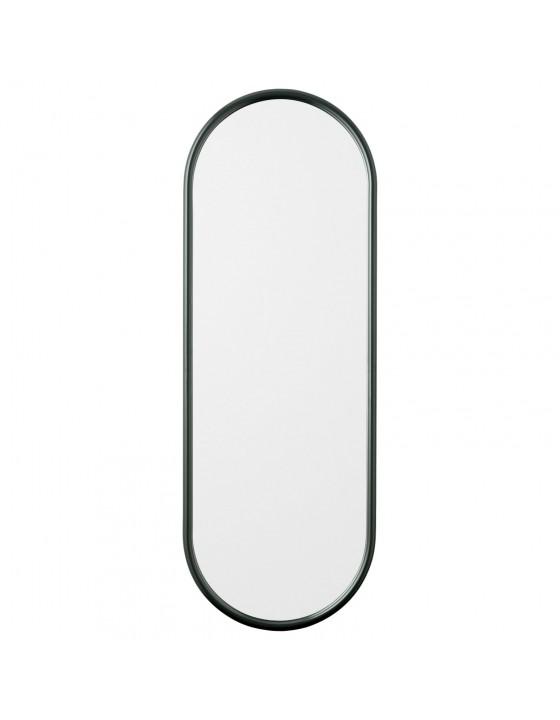 ANGUI L designerskie lustro w ramie podłużne zielone