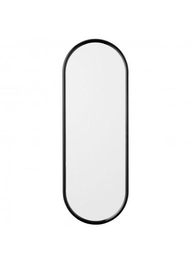 ANGUI L designerskie lustro w ramie podłużne czarne