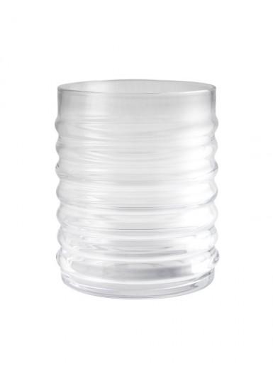 Willy Clear szklany pojemnik z czarnym korkiem