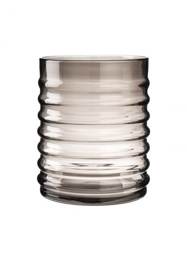 Willy Smoke szklany pojemnik z czarnym korkiem