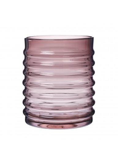 Willy Burgundy szklany pojemnik z czarnym korkiem