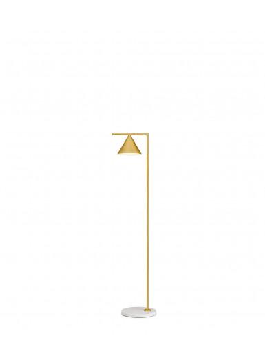 CAPTAIN FLINT miedź lampa podłogowa