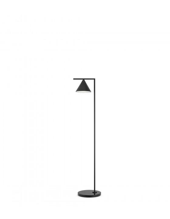 CAPTAIN FLINT antracyt lampa podłogowa