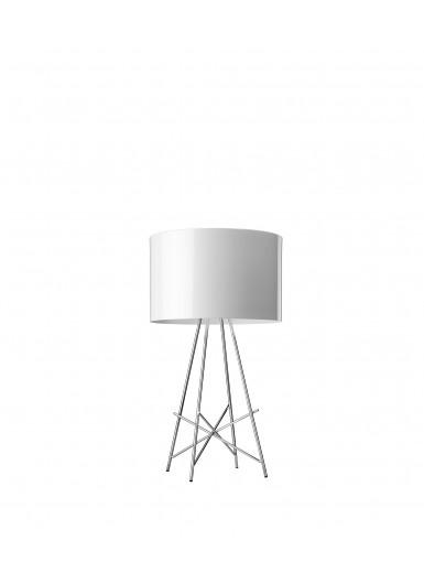 RAY T biała lampa stołowa Flos