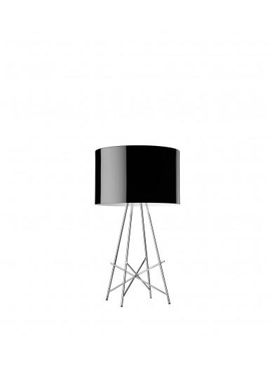RAY T czarna lampa stołowa Flos