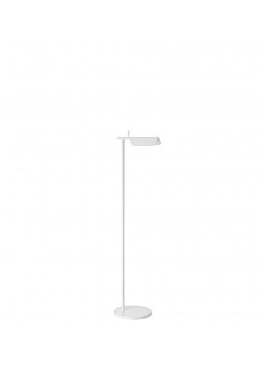 TAB F lampa podłogowa biała Flos