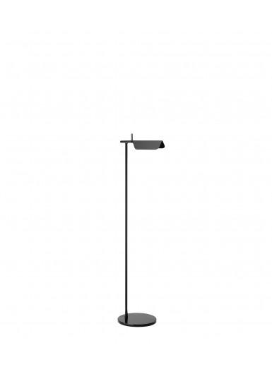 TAB F lampa podłogowa czarna Flos