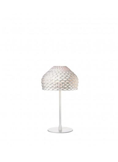 TATOU T biała lampa stołowa Flos