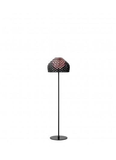TATOU F czarna lampa podłogowa Flos