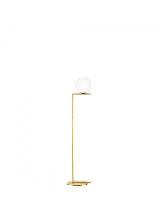 IC F1 miedź lampa podłogowa Flos
