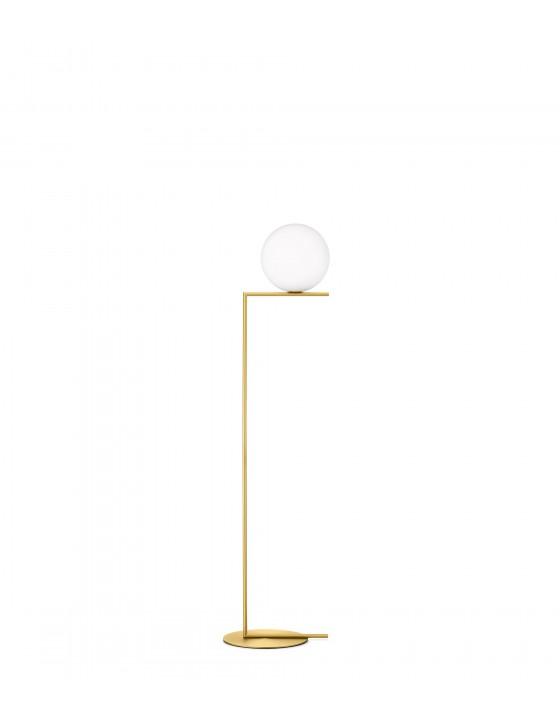 IC F2 mosiądz lampa podłogowa Flos