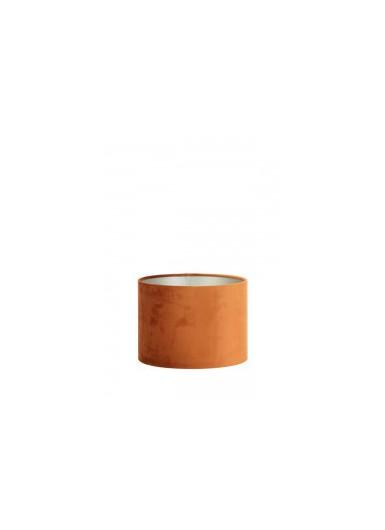 ABAŻUR 30x30x21 cm Velours pomarańczowy