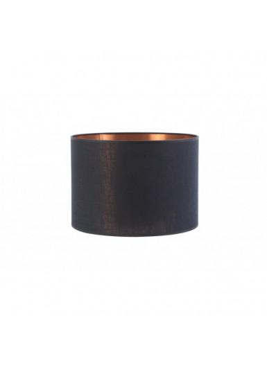 ABAŻUR 40x40x25 cm METALLICO czarno-złoty