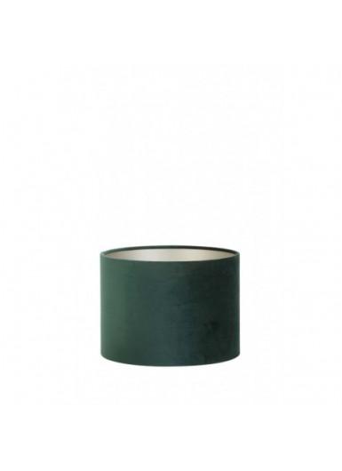 ABAŻUR 30x30x21 cm Velours zielony