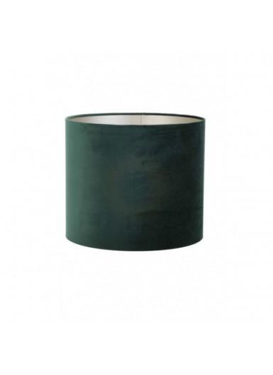 ABAŻUR 40x40x30 cm Velours zielony