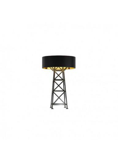 CONSTRUCTION S śr. 50 cm czarna lampa podłogowa MOOOI