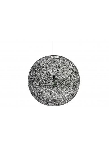RANDOM S LED czarna lampa wisząca MOOOI
