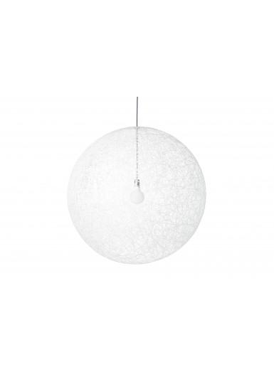 RANDOM M LED biała lampa wisząca MOOOI