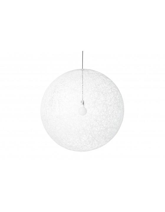 RANDOM L LED biała lampa wisząca MOOOI